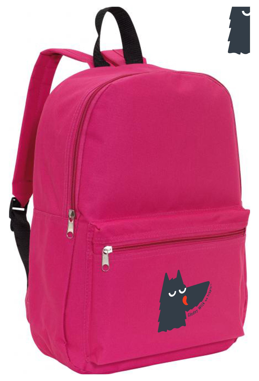 plecak rożowy
