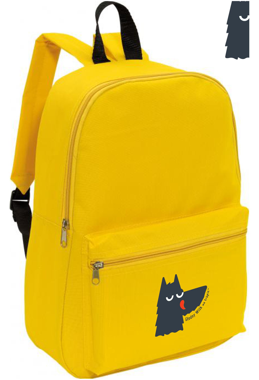 plecak żółty